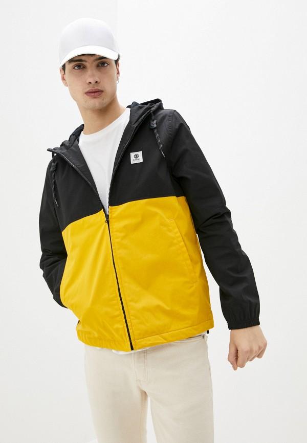 мужская куртка element, желтая