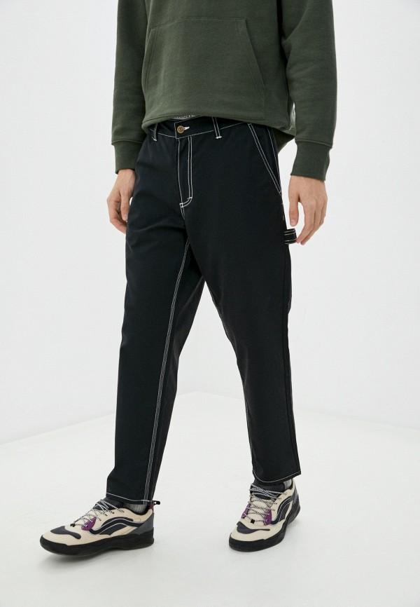 мужские повседневные брюки element, черные