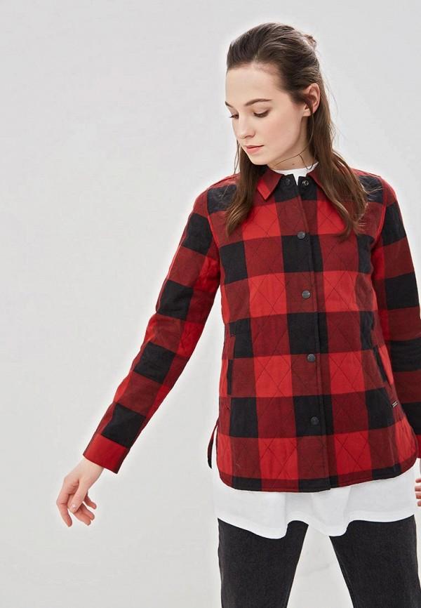 женская куртка element, красная