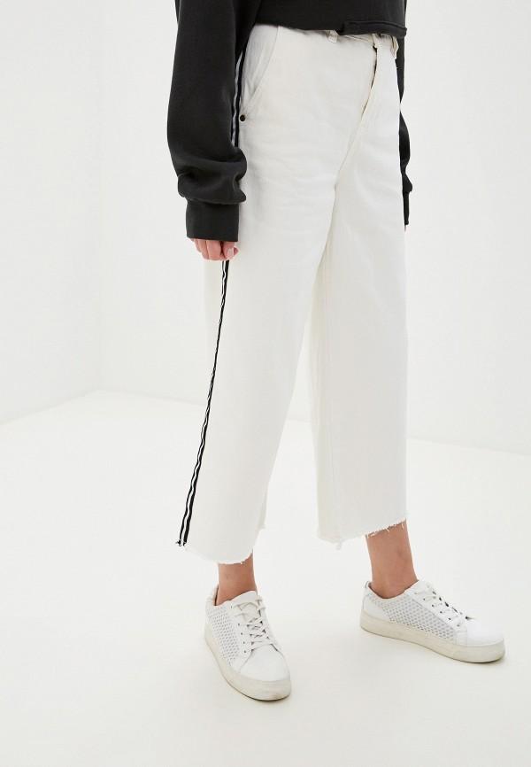 женские джинсы клеш element, белые