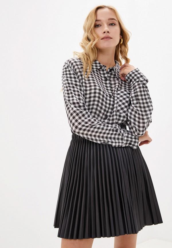 женская рубашка с длинным рукавом element, черная