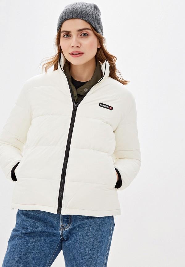 женская куртка element, белая