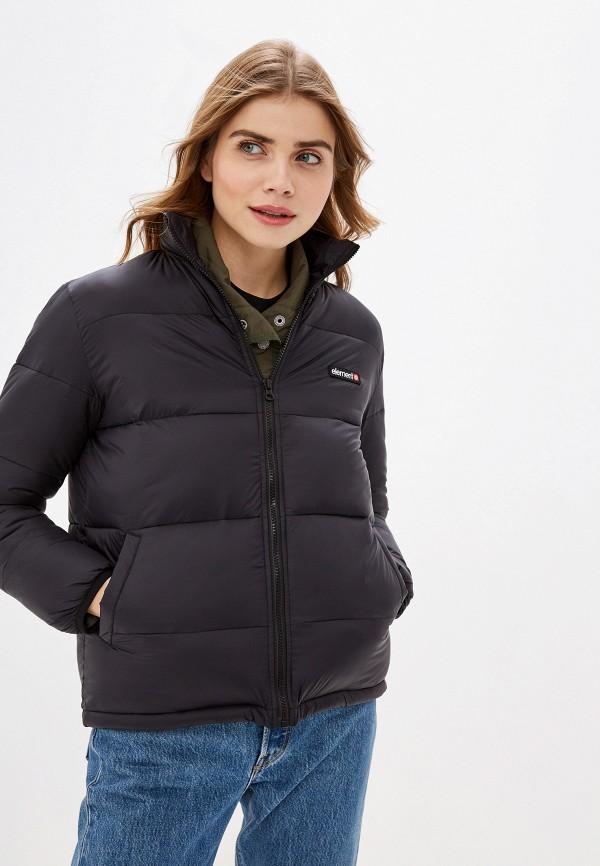 женская куртка element, черная