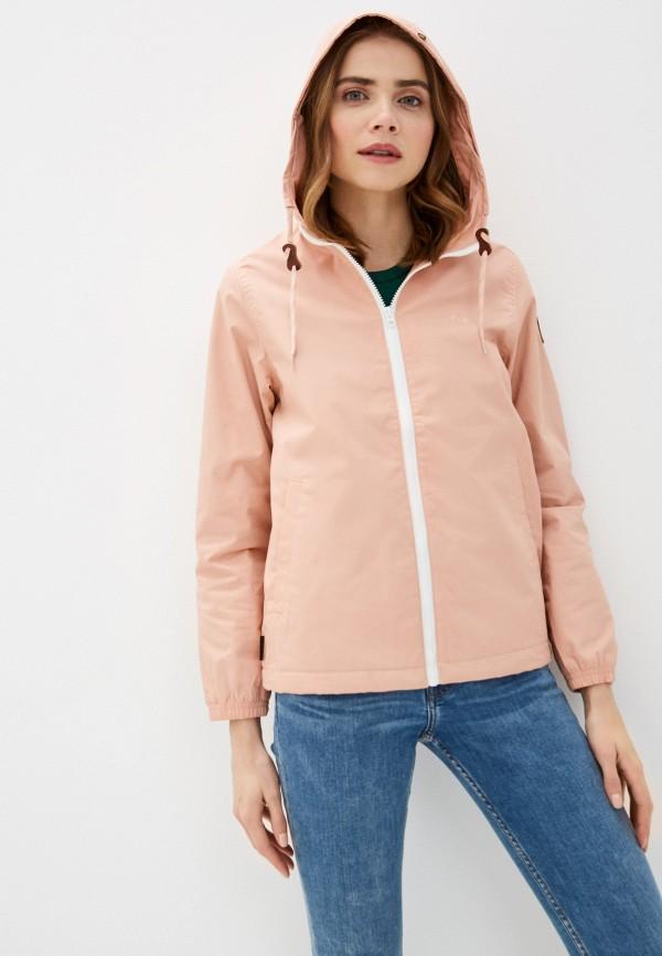 женская куртка element, розовая