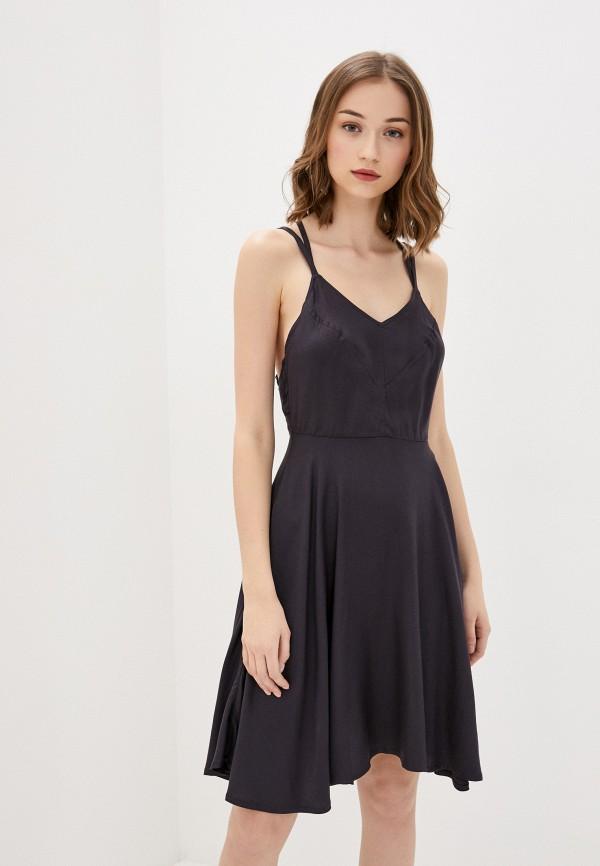 женское спортивные платье element, черное