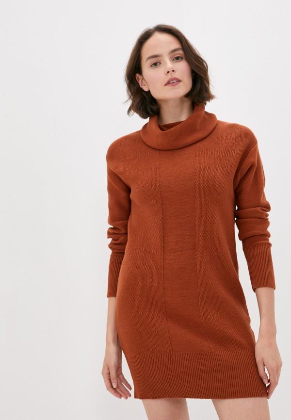 женское спортивные платье element, оранжевое