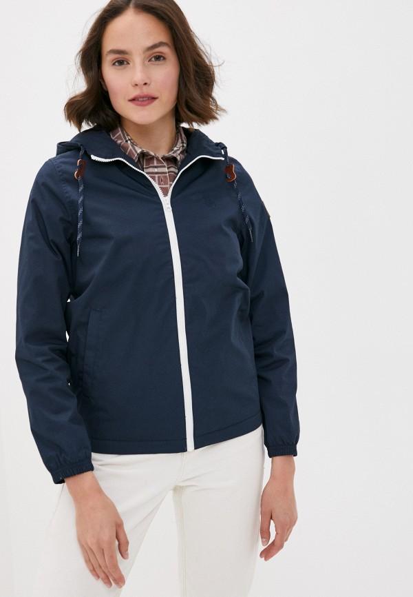 женская куртка element, синяя
