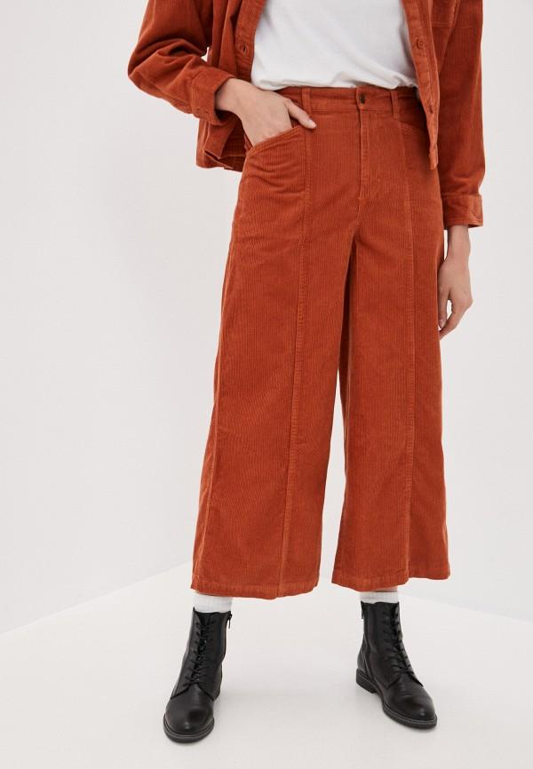 женские брюки element, оранжевые