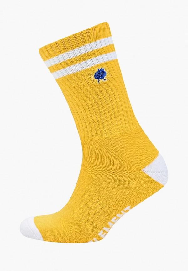 мужские носки element, желтые