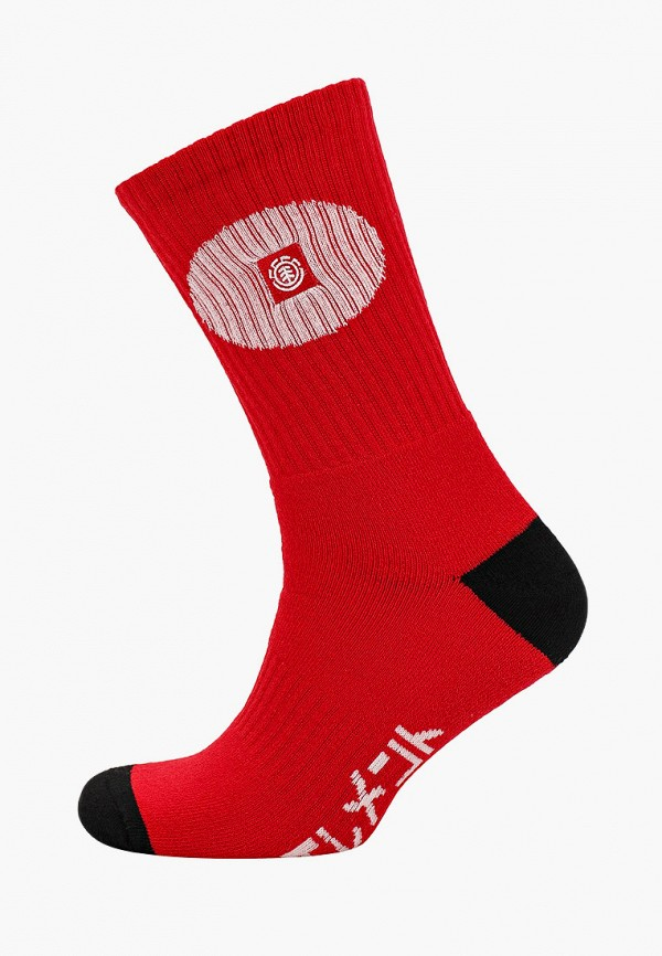 мужские носки element, красные