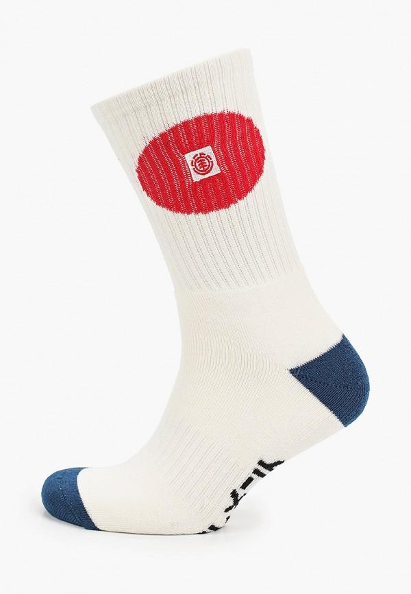 мужские носки element, белые