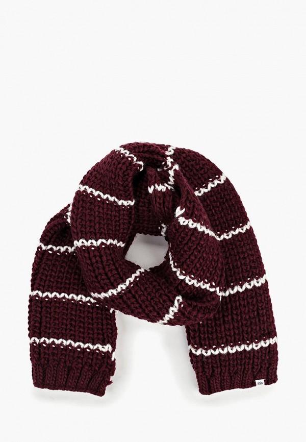 женский шарф element, бордовый