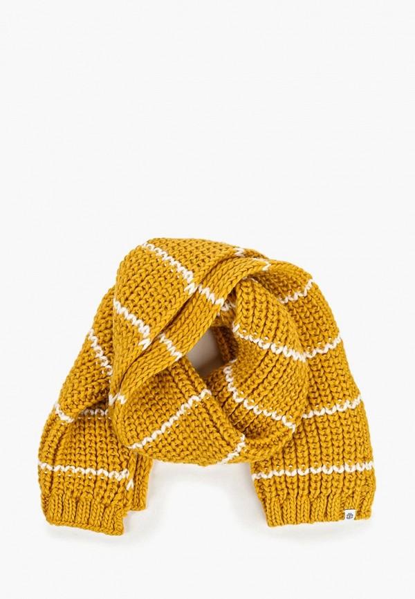 женский шарф element, желтый