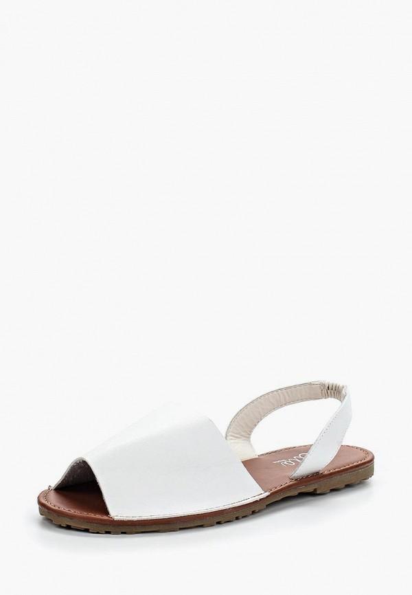 женские сандалии ella, белые