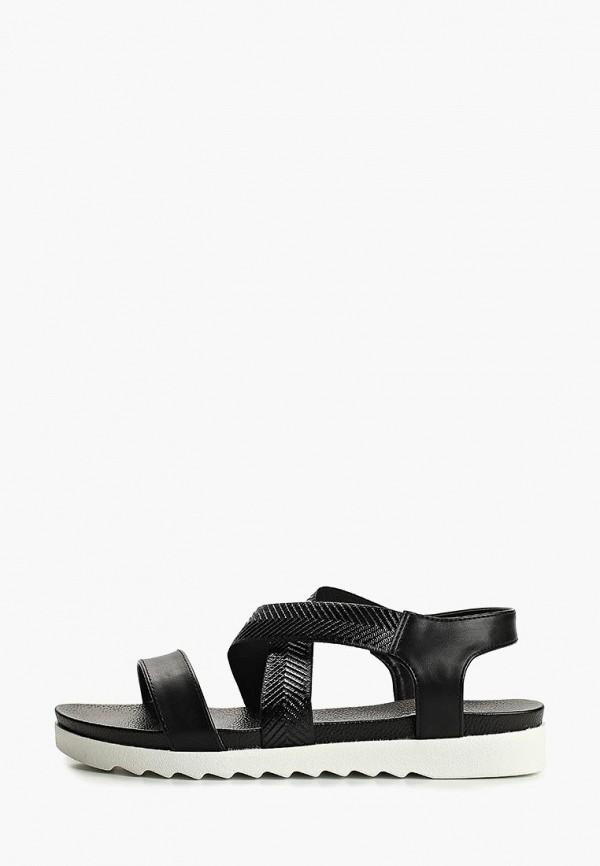 женские сандалии ella, черные