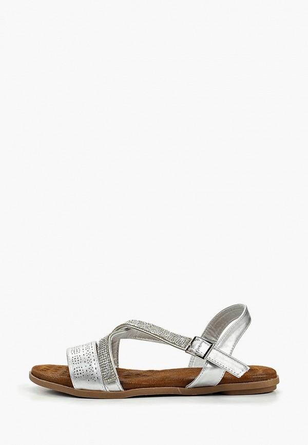 женские сандалии ella, серебряные
