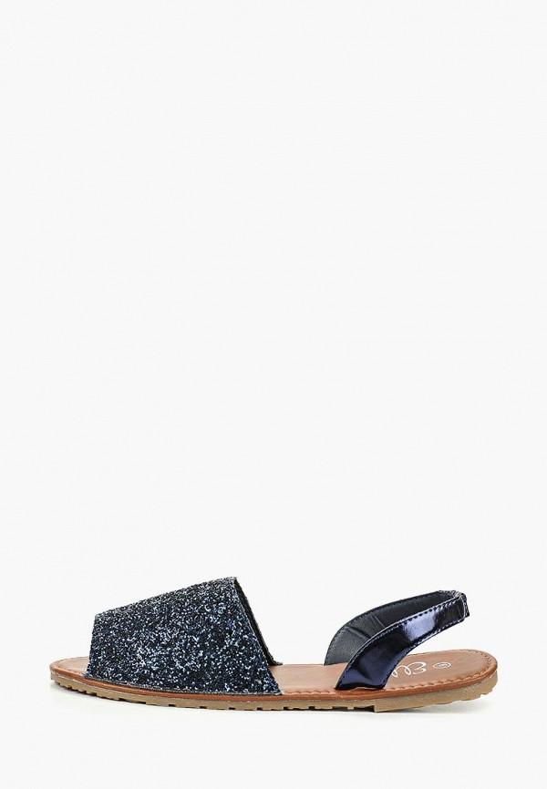 женские сандалии ella, синие