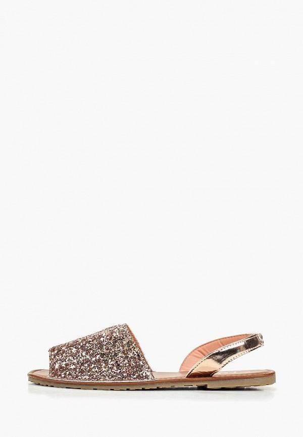 женские сандалии ella, розовые