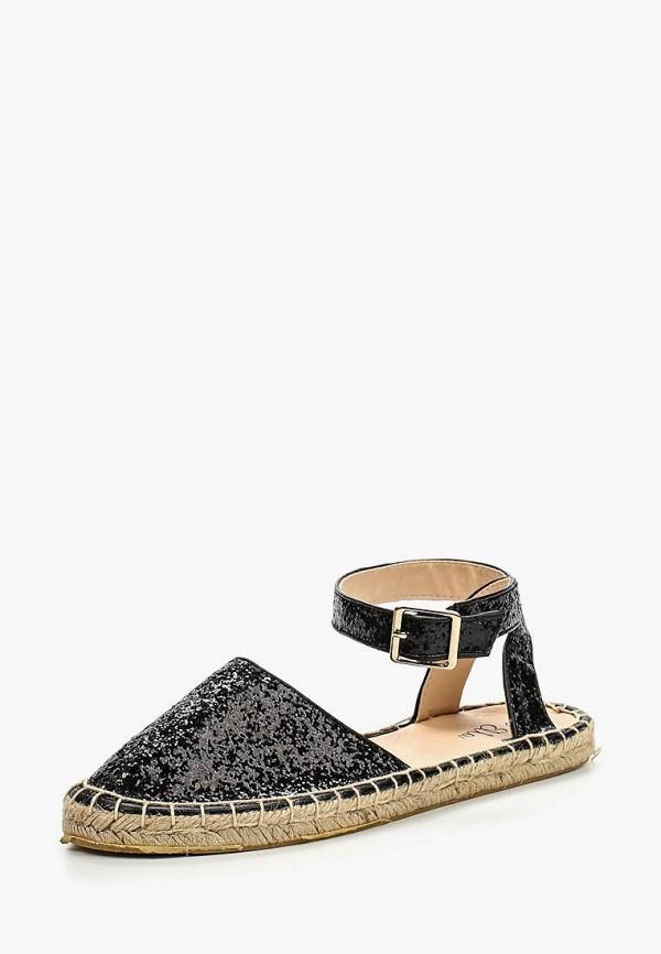 мужские сандалии ella, черные