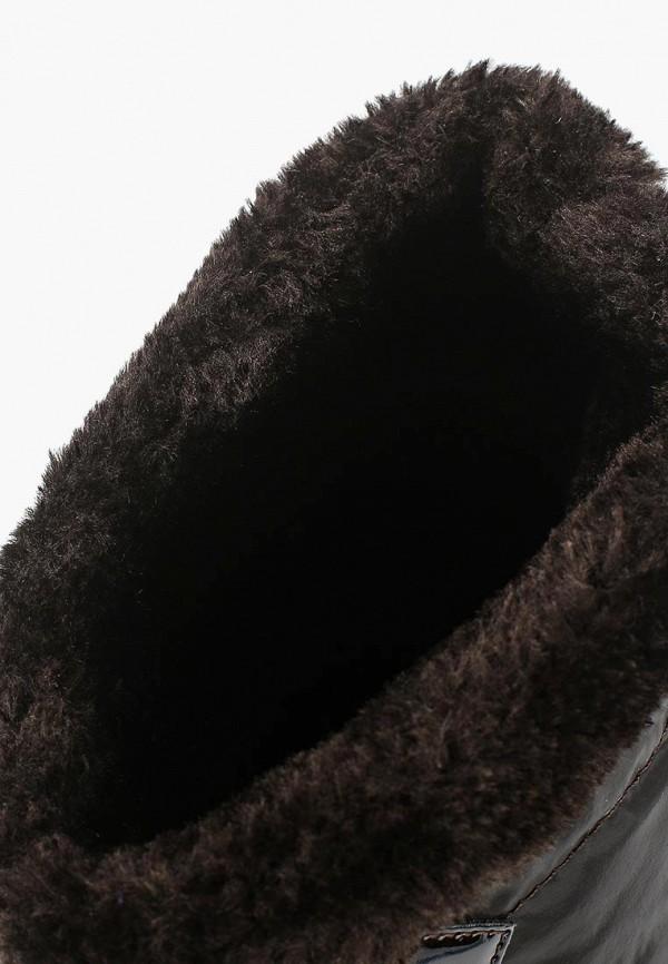 Фото 5 - Женский дутик Ella коричневого цвета