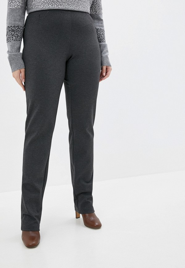 женские брюки elena miro, серые