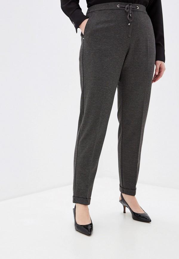 женские классические брюки elena miro, серые