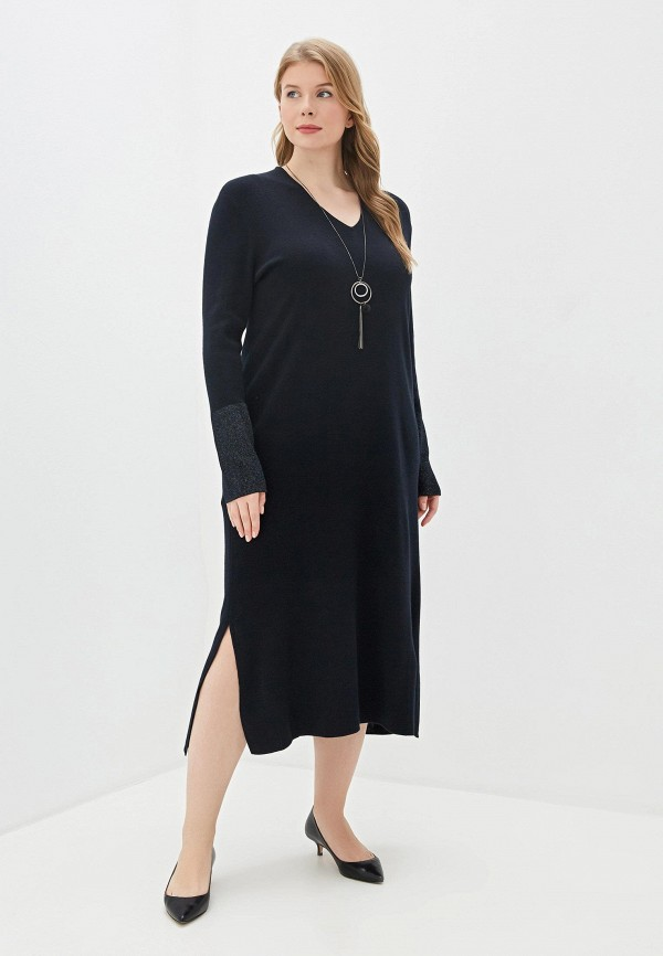 женское платье elena miro, синее