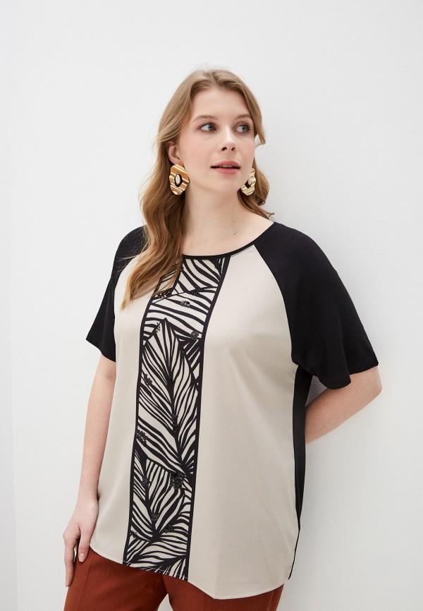 женская блузка elena miro, черная