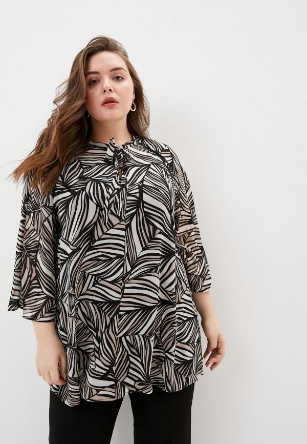 женская блузка elena miro, бежевая