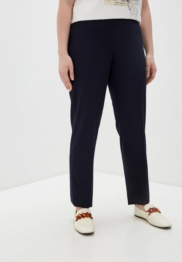 женские повседневные брюки elena miro, синие
