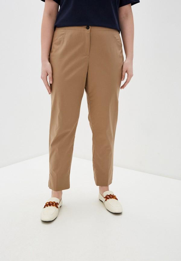 женские повседневные брюки elena miro, бежевые