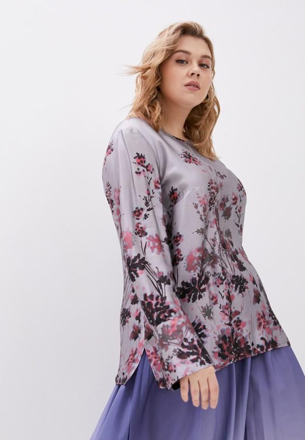 женская блузка elena miro, серая