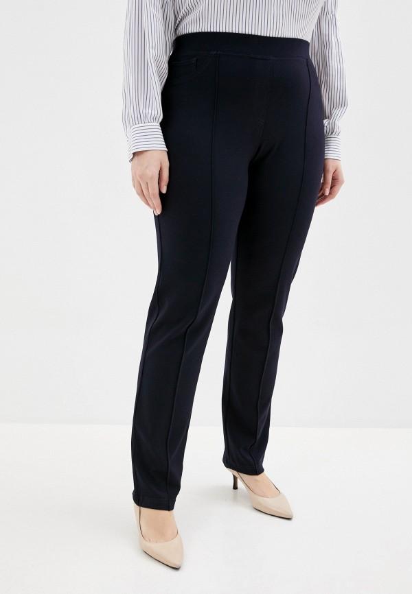 женские прямые брюки elena miro, черные