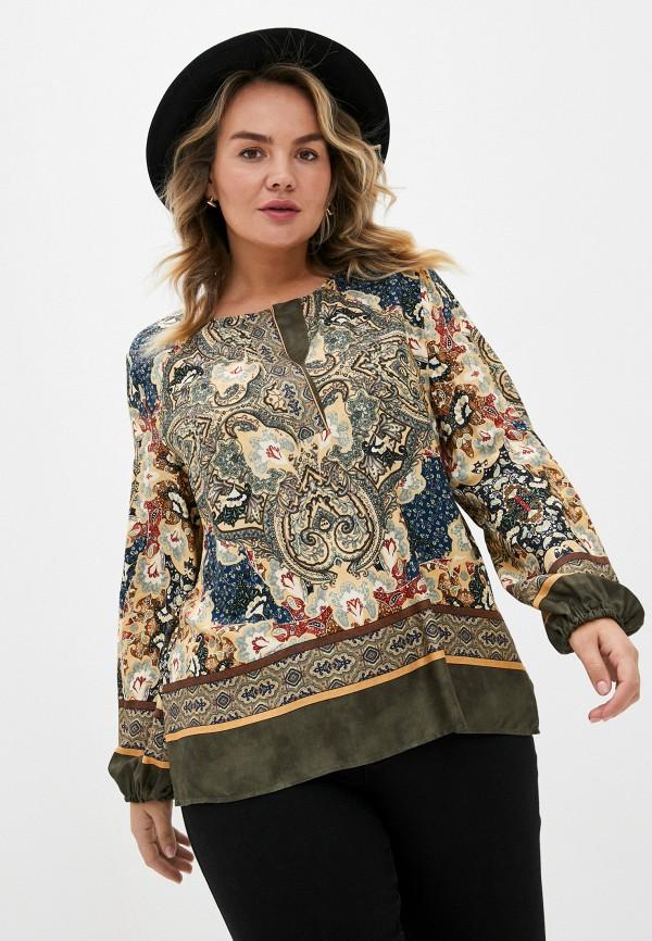 женская блузка elena miro, разноцветная