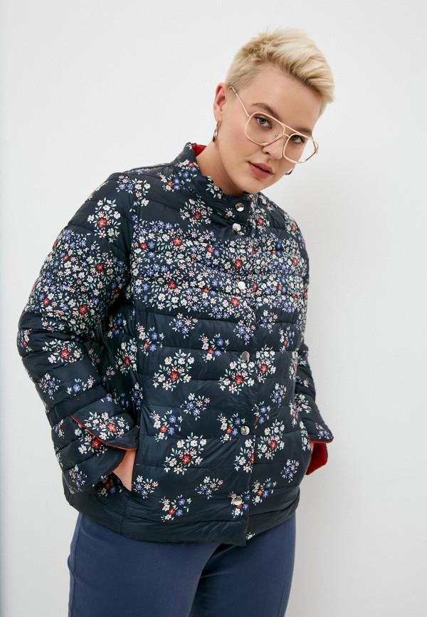 женская куртка elena miro, синяя