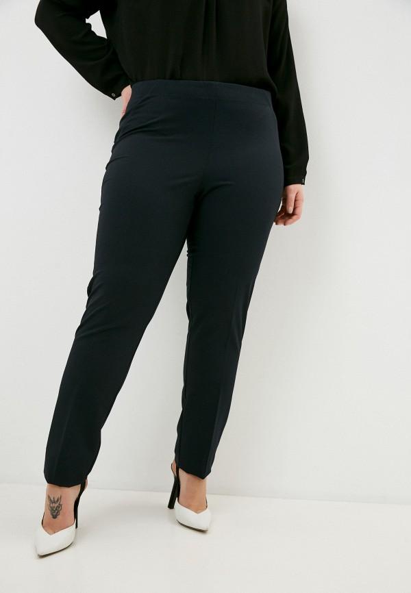 женские зауженные брюки elena miro, синие