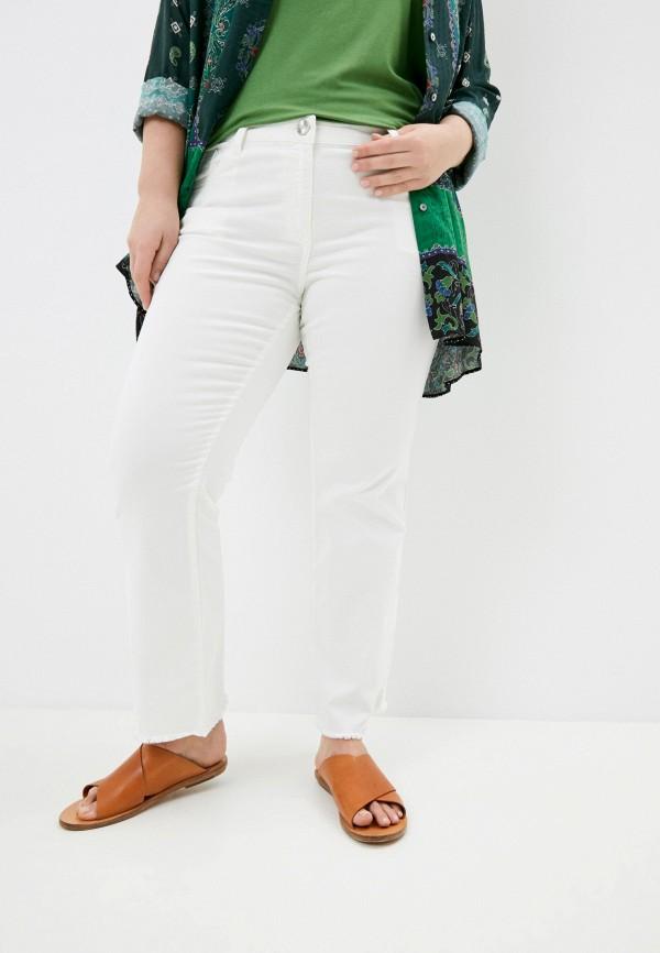 женские прямые джинсы elena miro, белые