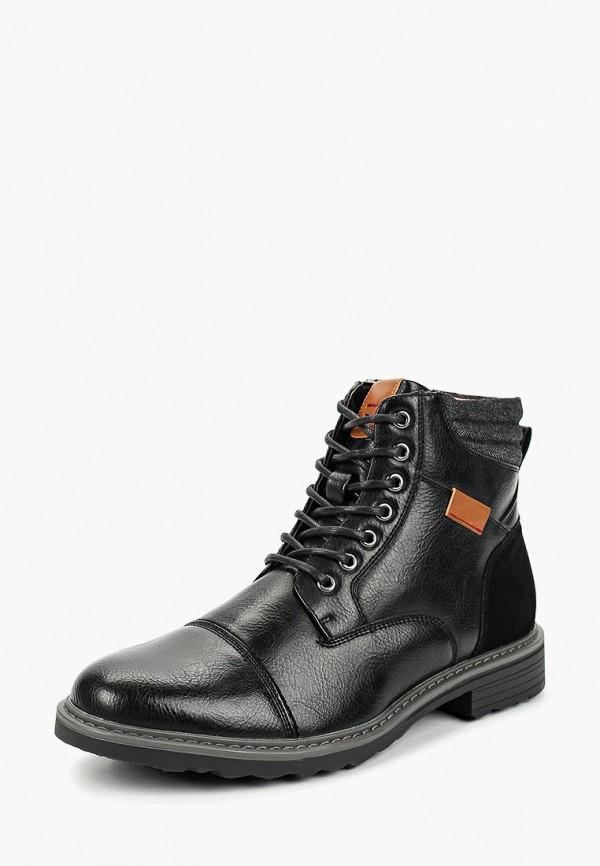 мужские высокие ботинки elong, черные