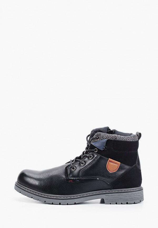 мужские ботинки elong, синие