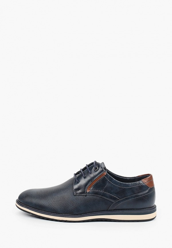 мужские туфли elong, синие