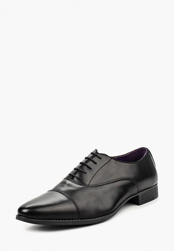 мужские туфли elong, черные
