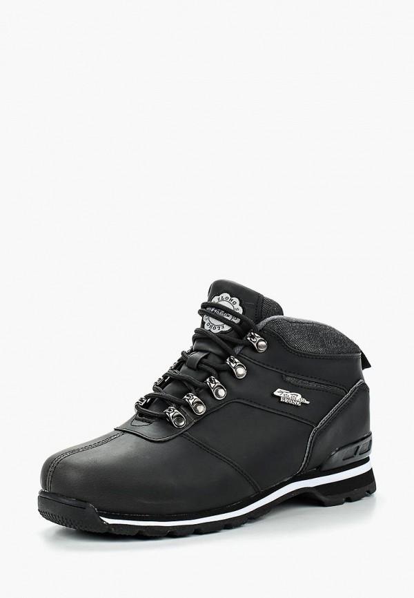 мужские ботинки elong, черные