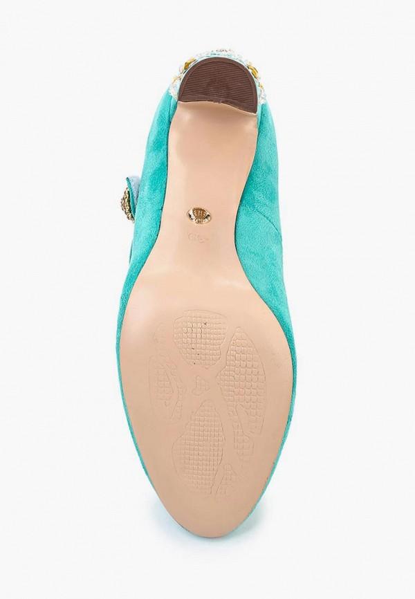 Фото 3 - женские туфли Elsi бирюзового цвета