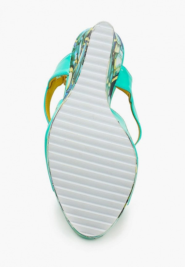 Фото 3 - женские босоножки Elsi разноцветного цвета