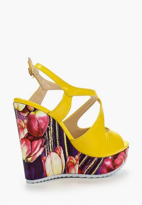 Фото 2 - женские босоножки Elsi разноцветного цвета