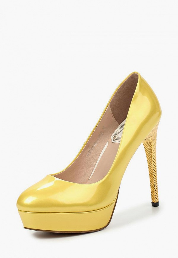 женские туфли elsi, желтые