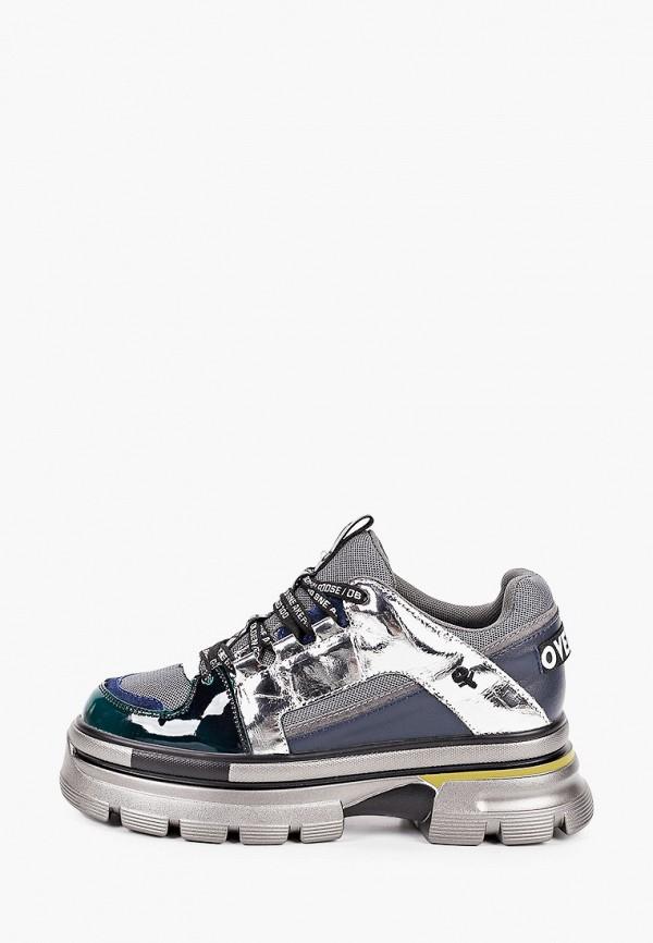 женские кроссовки elsi, синие