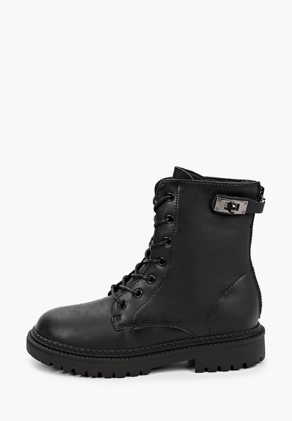 женские высокие ботинки elsi, черные
