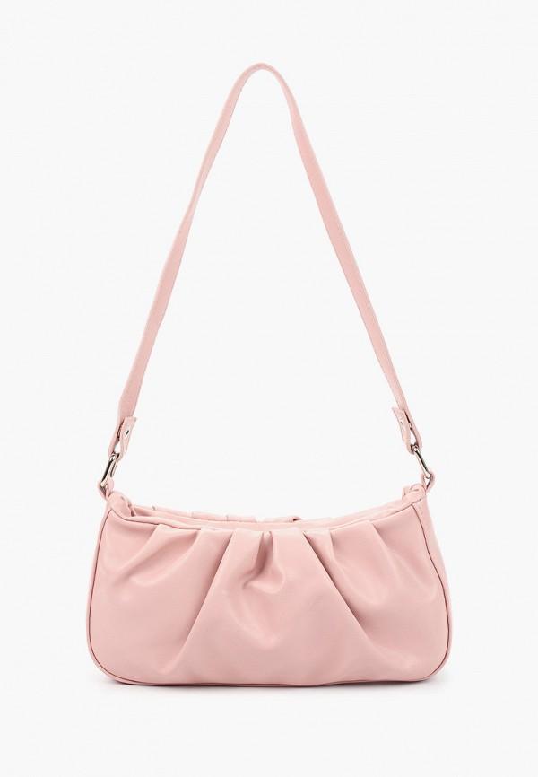 женская сумка elsi, розовая