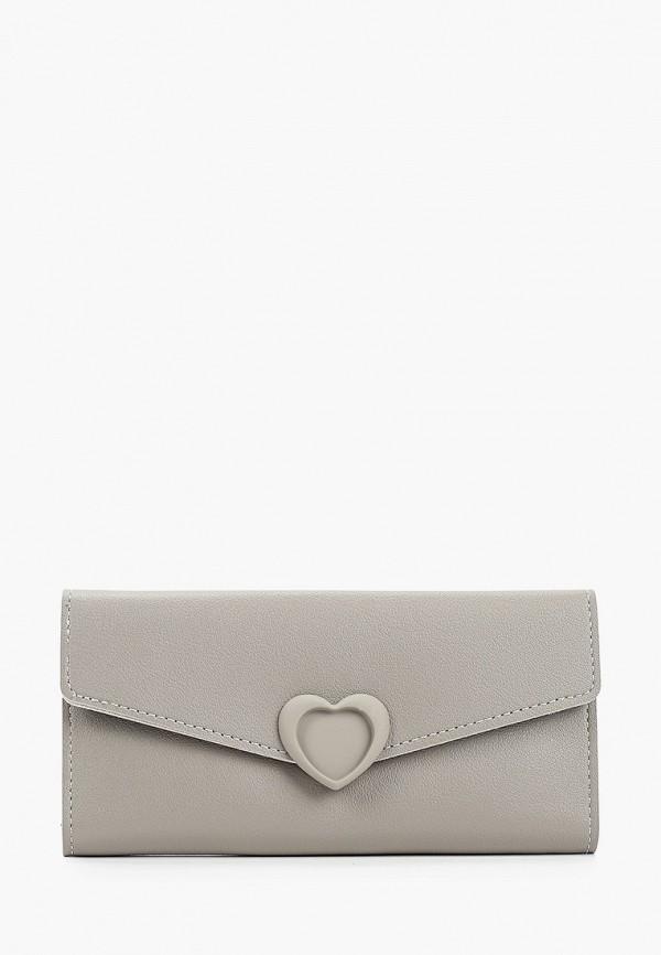 женский кошелёк elsi, серый